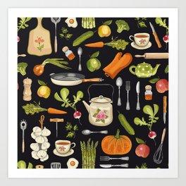 Soul kitchen Art Print