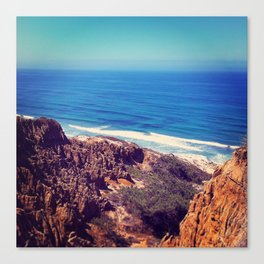California Cliffs Canvas Print