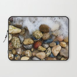 Stones at the beach Laptop Sleeve