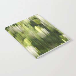 Green Hue Realm Notebook