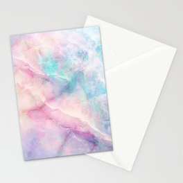 Iridescent marble Stationery Cards