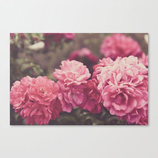 Vintage Florals Canvas Print