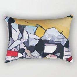 Abstract 100 #1 Rectangular Pillow