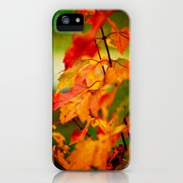 Tumble Down Fire iPhone Case
