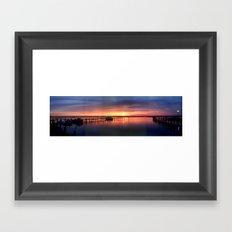 PERFECTSUNSET Framed Art Print