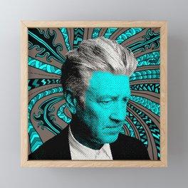 David Framed Mini Art Print