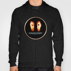 Face Off - Portrait Painting Style Hoody