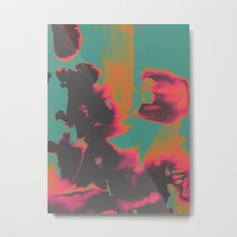 Exposed Metal Print