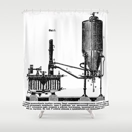 Brockhaus-Efron Distillery 1 Shower Curtain