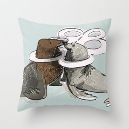 Until death do us part Throw Pillow