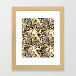 African pattern. Framed Art Print