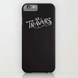 As Travars - to travel (white) iPhone Case