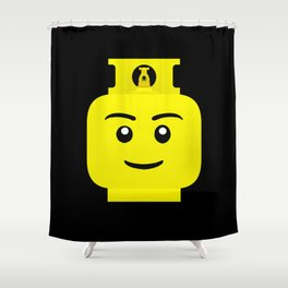 Gas Bottle  Shower Curtain