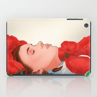 dorothy iPad Cases featuring Dorothy & the poppies by _JC_