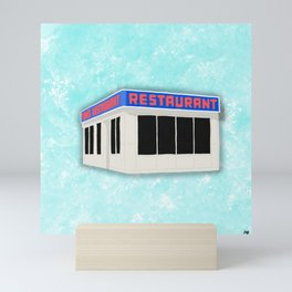 Monk's Coffee Shop Mini Art Print
