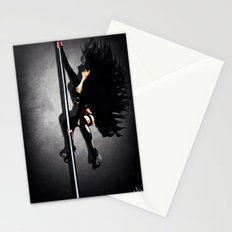 Private Dancer (blk/white) Stationery Cards