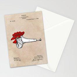 patent Schoenhut Trumpet 1892 Stationery Cards