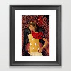 Talking Blooms Framed Art Print