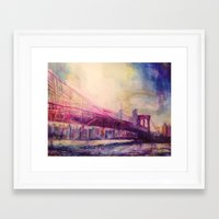 dumbo Framed Art Prints featuring Dumbo by Creavivity