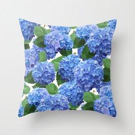 Hydrangea 2 Throw Pillow