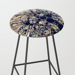 Colorful tree loves you and me. Bar Stool
