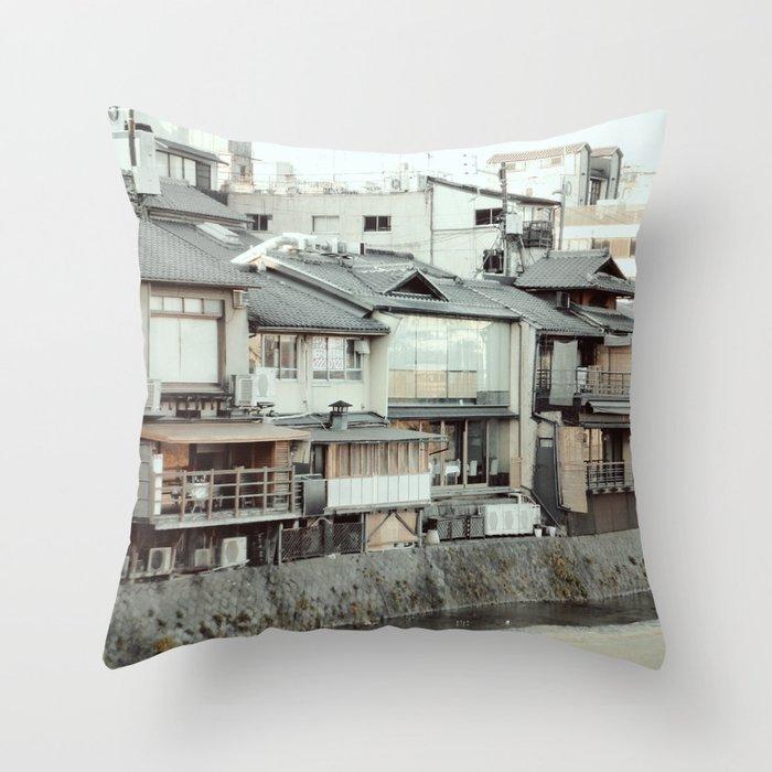 Kamogawa Throw Pillow