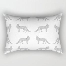 A Minimalist Fox Rectangular Pillow