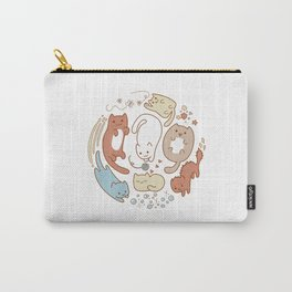 Seven cute cats. Carry-All Pouch