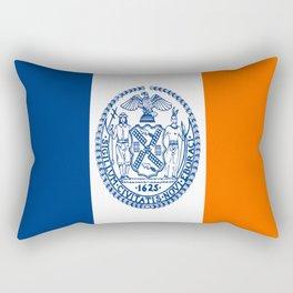 American cities-  Flag of  new york Rectangular Pillow