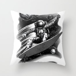Surf Anywhere Throw Pillow