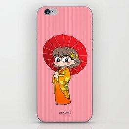Eva in Kimono iPhone Skin