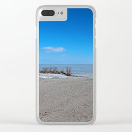 Tantalizing Tease Clear iPhone Case