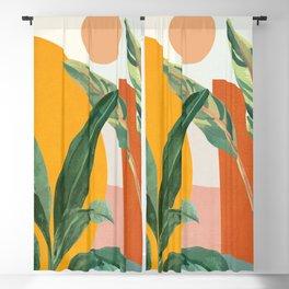 Leaf Design 03 Blackout Curtain