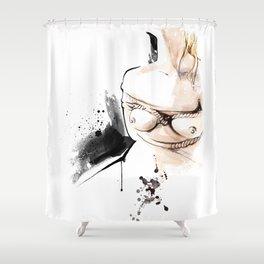 Shibari - Japanese BDSM Art Painting #14 Shower Curtain
