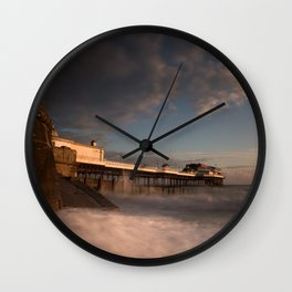 Cromer Pier at dawn Wall Clock