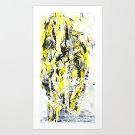 Mirrorface Art Print