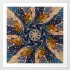 Spinning Energy Art Print