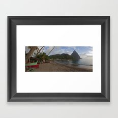 Glorious Piton Framed Art Print