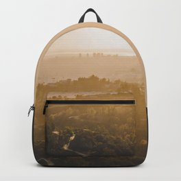 Golden Hour - Los Angeles, California Backpack