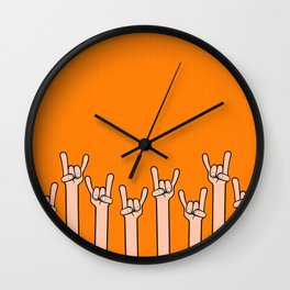Born to rock Wall Clock
