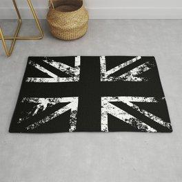 United Kingdom Black Flag Rug