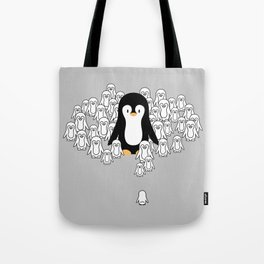 Penguin Mark Tote Bag