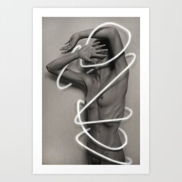 Retrogression Art Print