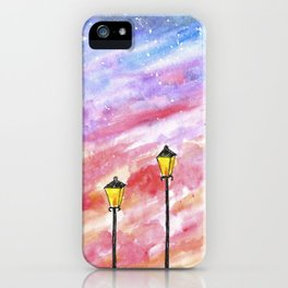 Sunset Light iPhone Case