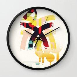 Abstract geometric art Wall Clock