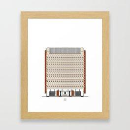 Torre América Framed Art Print
