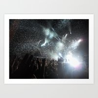 concert Art Prints featuring Concert by Anna Mundy