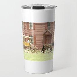 Carriage Ride Photography Art Travel Mug