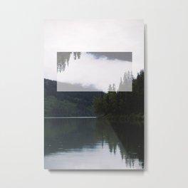 meziadin lake Metal Print