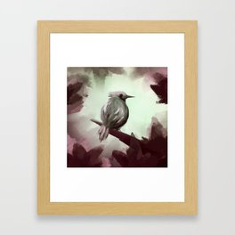 For the ones bird Framed Art Print